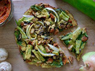 健康低热量披萨
