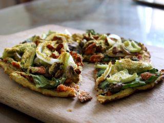 健康低热量披萨,太好吃了!
