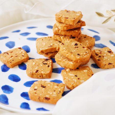 红糖花生饼干