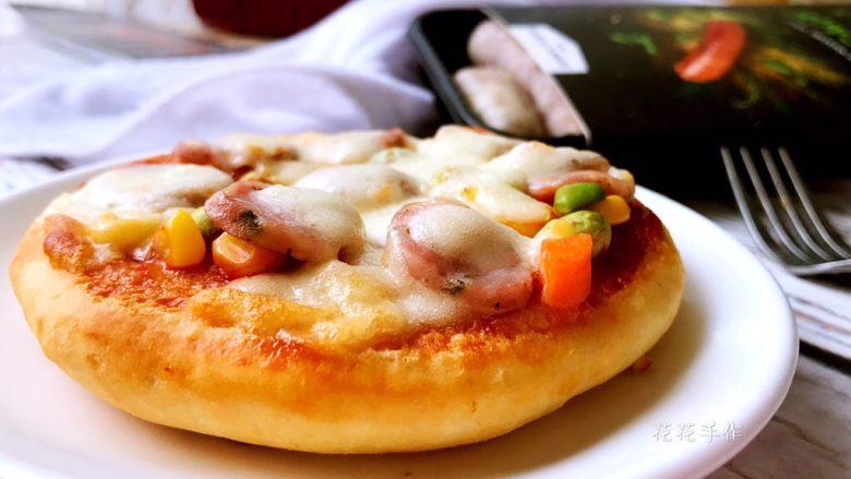 迷你香肠披萨,成品2