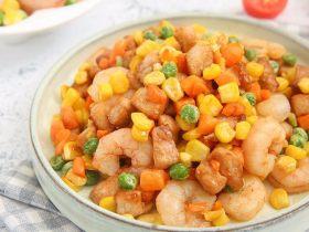 吃出健康的秘诀,虾仁杂蔬丁让你爱上餐桌