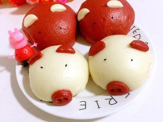 可爱猪猪包,成品图