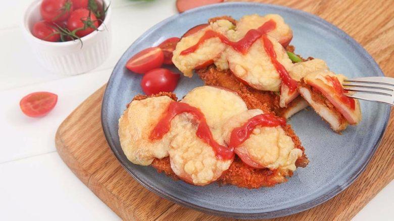 两分钟自制鸡排披萨,香酥又可口简单易上手