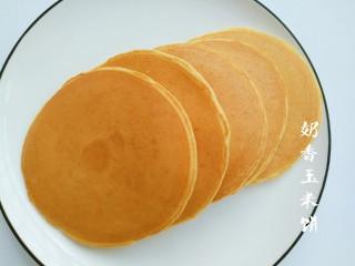奶香玉米饼,玉米香甜,奶香醇正
