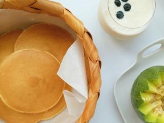 奶香玉米饼,百吃不厌的快手早餐