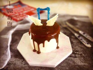 【天使之城】巧克力淋面蛋糕