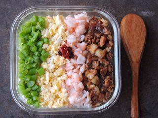 日式四色饭
