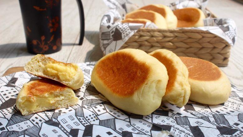 奶油面包(不用烤箱)