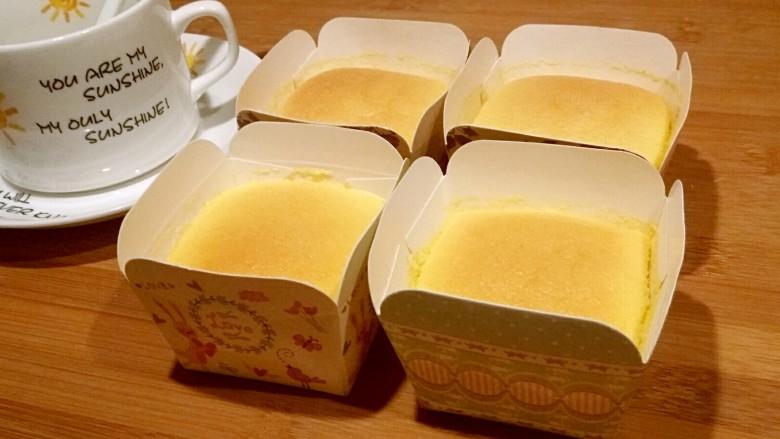 纸杯酸奶蛋糕,美味完成,下午茶开始。