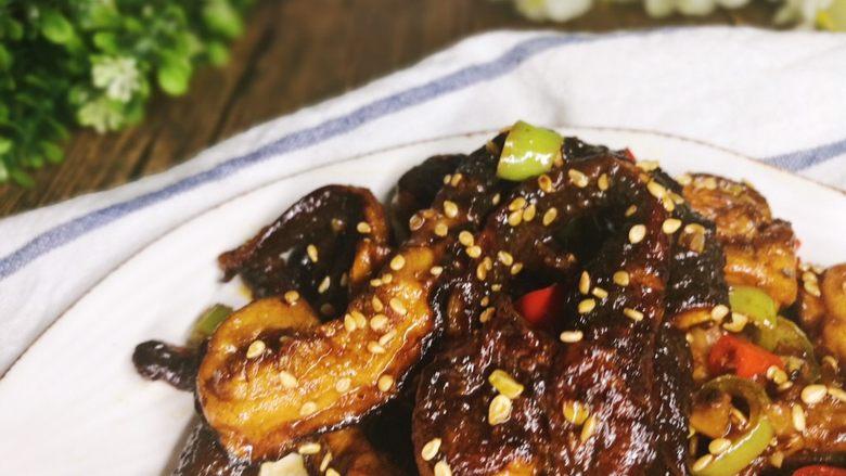 比真鳝鱼还好吃的素鳝丝,芝麻的加入真的锦上添花呀