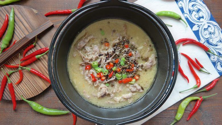 酸汤肥牛,掌柜的 来两碗米饭