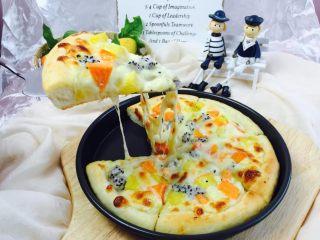 什锦水果披萨