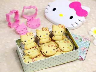 hellokitty饼干,此饼干是不是很可爱呢?!