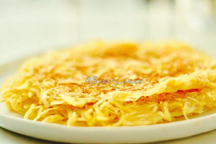 健身主食—低脂土豆丝饼