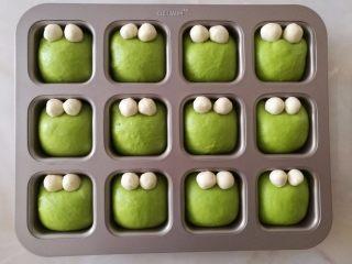 挤挤小面包-绿豆蛙表情包,全部放好眼睛后的样子