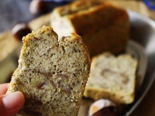 超好吃的红茶栗子磅蛋糕,来尝尝吧
