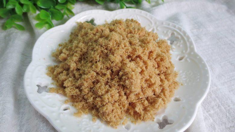 香酥猪肉蓉——宝宝辅食