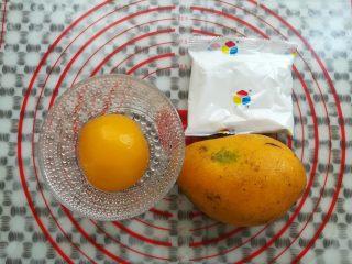 水果果冻(白凉粉版),准备好材料和份量