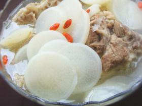 猪棒骨萝卜汤