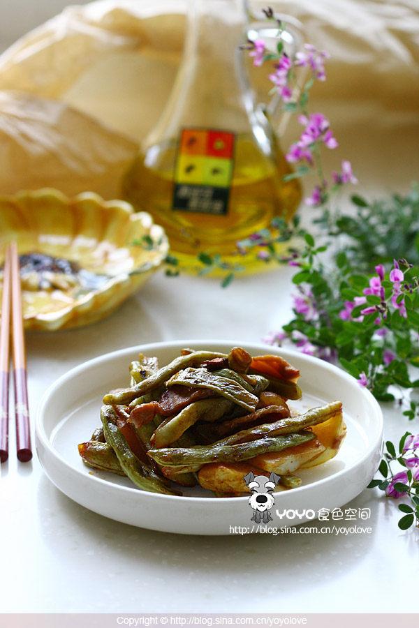 芸豆土豆烧肉片