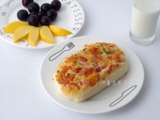 香葱培根芝士面包(咸香味),做为早餐棒棒哒!