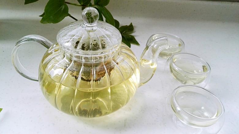 荷叶玳玳花茶