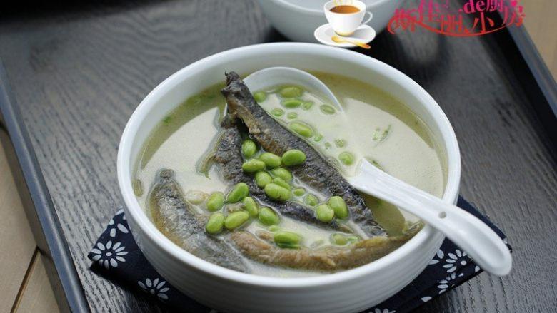 青豆泥鳅汤