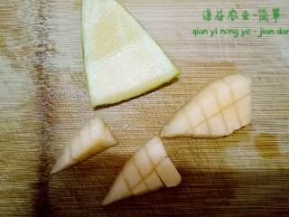简箪梨子酸奶沙拉,哈密瓜切发参考木瓜