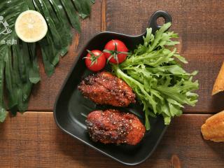 两分钟学会黑椒烤肉,抗饿一整天的营养大菜,成品展示