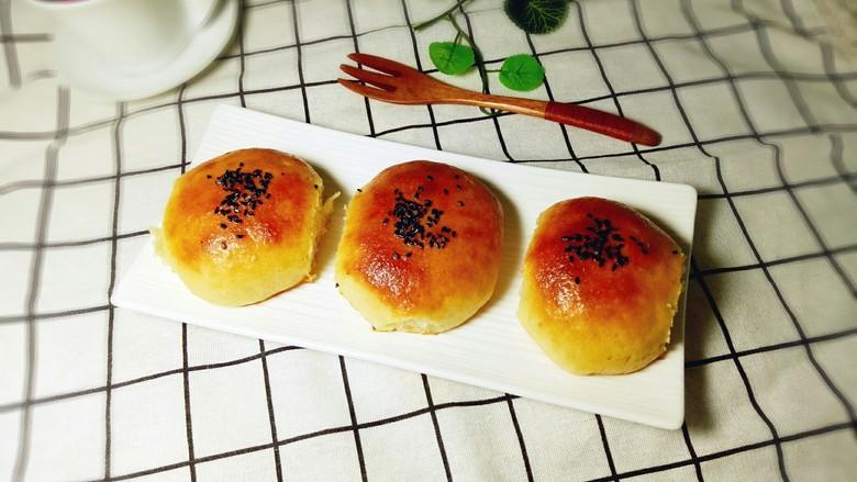 蜜豆小面包