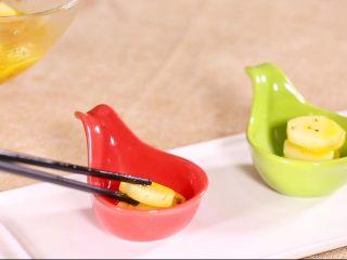 橙汁山药,装盘要有格调
