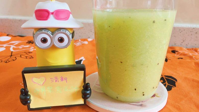 奇异果黄瓜汁