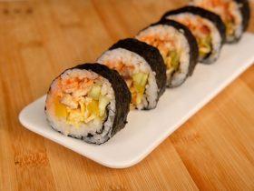 鰻魚紫菜包飯