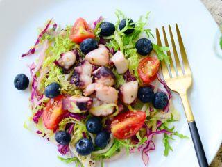 意大利海鲜低脂沙拉,完成品