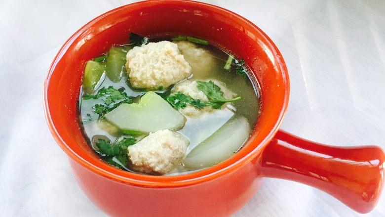 肉丸黄瓜汤