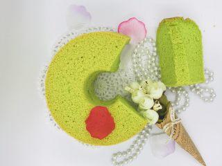 健康低脂《菠菜戚风蛋糕》【蛋糕】