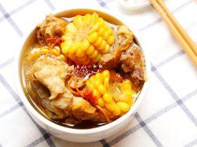虫草花玉米筒骨汤