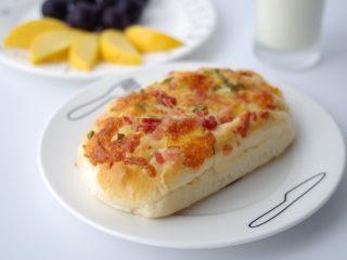 香葱培根芝士面包(咸香味)