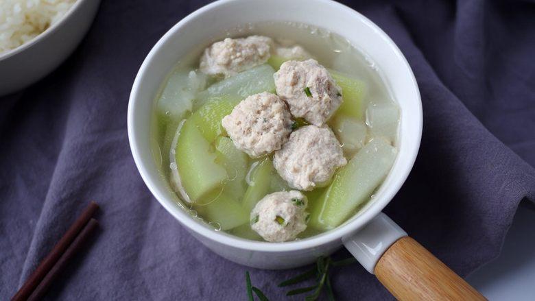 肉丸瓠子汤