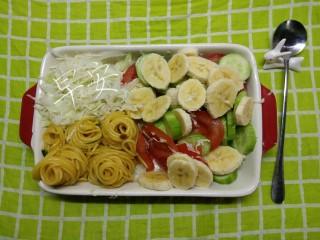 一个人生活没有厨房的日子(一),南瓜面的其它版本。