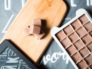 巧克力芝士冰淇淋小方,搞定,可以开动啦