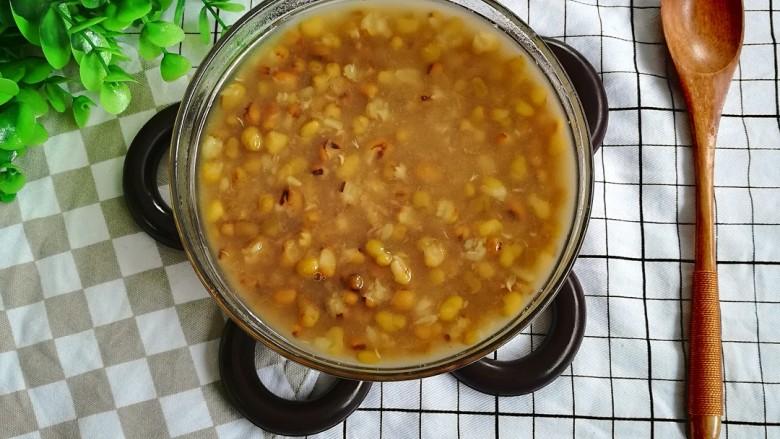 陈皮绿豆汤