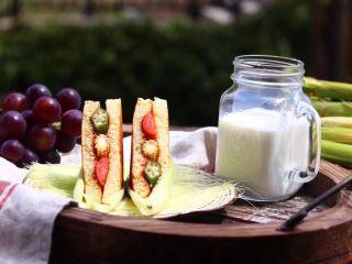 墨西哥香肠三明治,成品图
