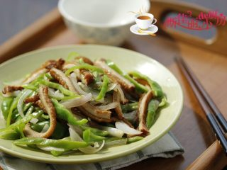 青椒洋葱炒牛肚丝