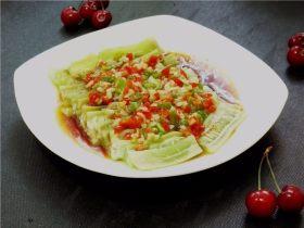 夏季快手菜--微波蒜蓉丝瓜