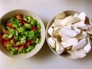糖醋鸡腿菇(菌菇),鸡腿菇切滚刀块