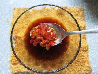吃豇豆还用麻汁?快来试试这个--手撕豇豆,放入1汤匙剁椒酱调匀