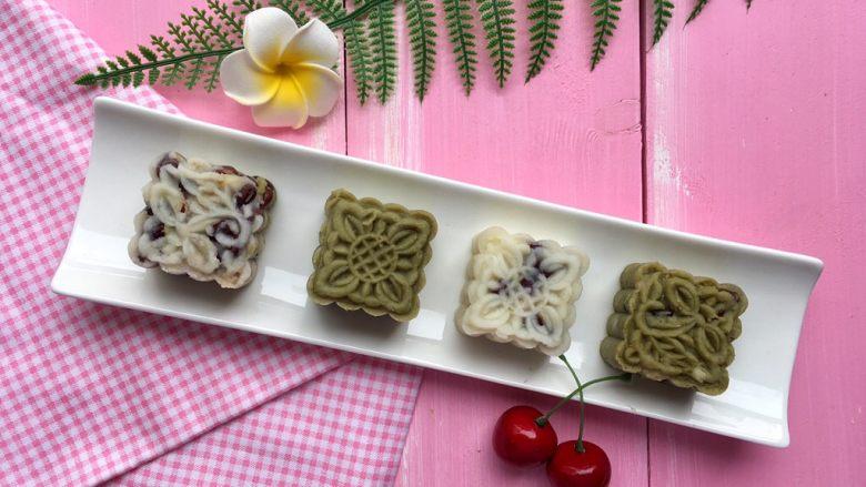 薏米红豆山药糕
