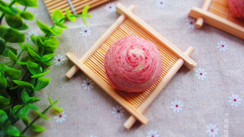 红曲酥,中式糕点