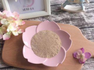 宝宝辅食:香菇虾皮粉